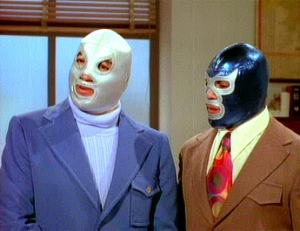 El Santo and Blue Demon