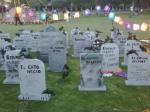 gravestones UNAM