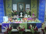 Altar to Jose Vasconcelos UNAM CEPE